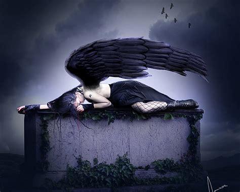 wallpaper hd black angel dark red hd wallpaper free download wallpaper dawallpaperz