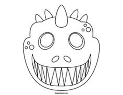 dinosaur mask template dinosaur masks to print masking and magic tree houses