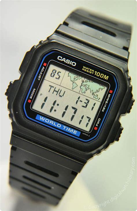 casio w 520u worldtime vintage digital