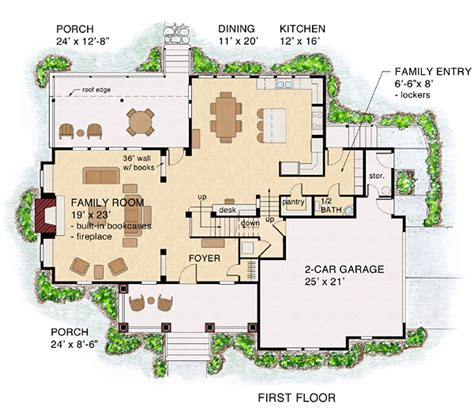 traditional bungalow house plans house plan 74012 at familyhomeplans