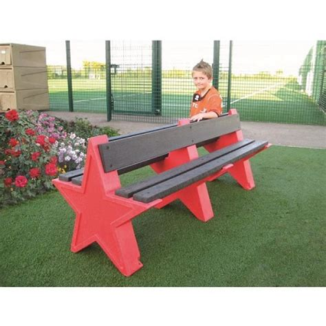star bench 6 seater star bench buy online from kingfisher direct