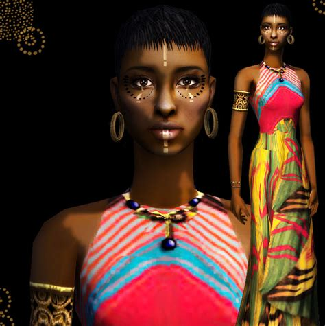 african american sims 3 mod the sims quot saidah quot african princess update with