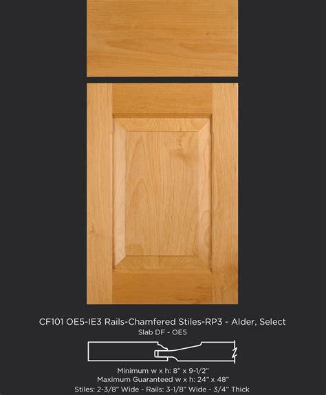 kitchen cabinet rails and stiles cabinets matttroy