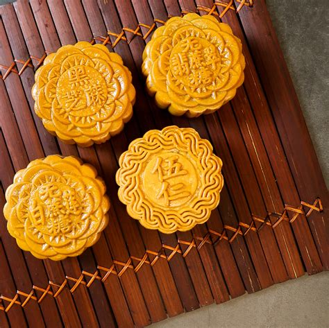 new year mooncake vegan 4 mooncakes box set mix flavours fixed delcies
