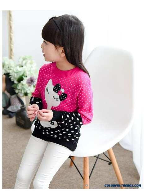 Blouse 3 Tone Sweater 3 Warna cheap clothing primer shirt pullover spell color sweater cat sweater coat sale