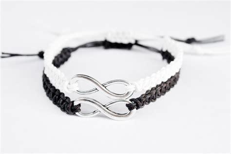 infinity bracelet for couples couples bracelet