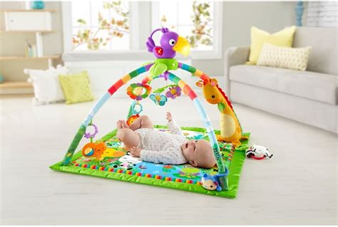 fisher price music and lights deluxe gym rainforest fisher price rainforest music and lights deluxe gym baby