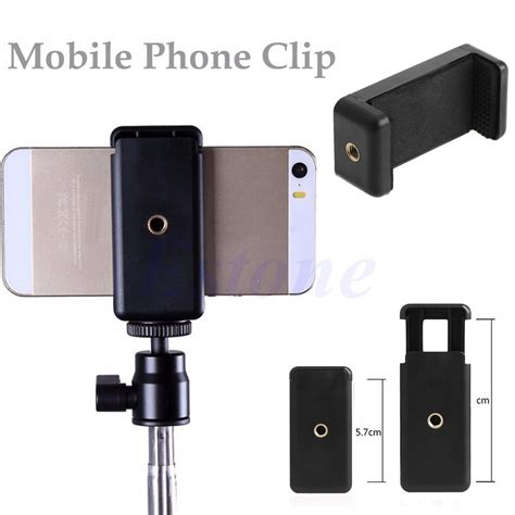 universal tripod monopod stand mount selfie clip bracket holder for iphone 6 htc ebay