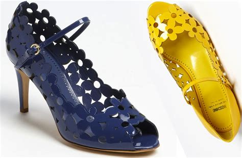 yellow flat shoes for wedding floral motif wedding shoes moschino cheap chic navy yellow