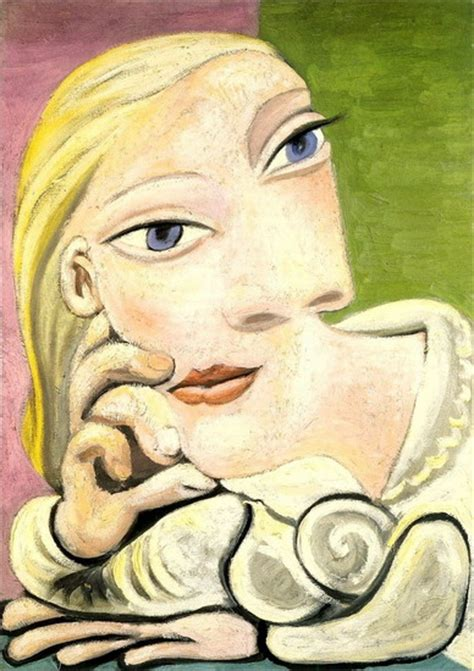 by pablo picasso marie therese walter pablo picasso portrait of marie therese walter 1932