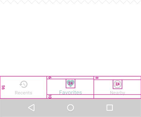 google design bottom bar bottom navigation components google design guidelines
