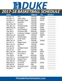 Duke Calendar 2015 Search Results For Duke Basketball Schedule Printable