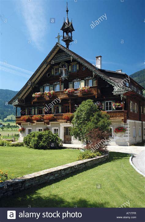 houses to buy in austria architecture farm houses austria salzburg farm near altenmarkt im stock photo