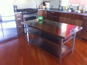 stainless steel kitchen island table home design stainless steel kitchen island table ikea