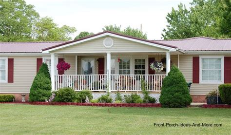 lovely house plans with front porches 13 ranch style porch designs for mobile homes porch designs ranch