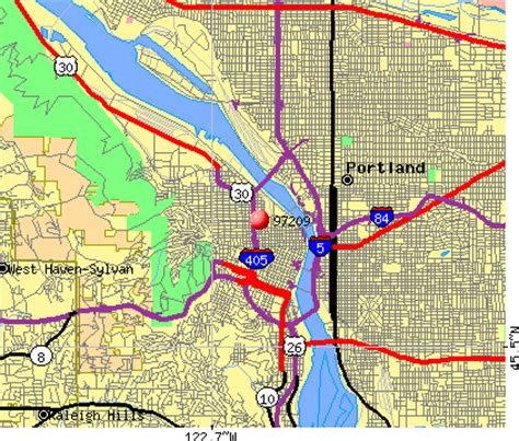 printable zip code map portland oregon downtown portland oregon zip code map images