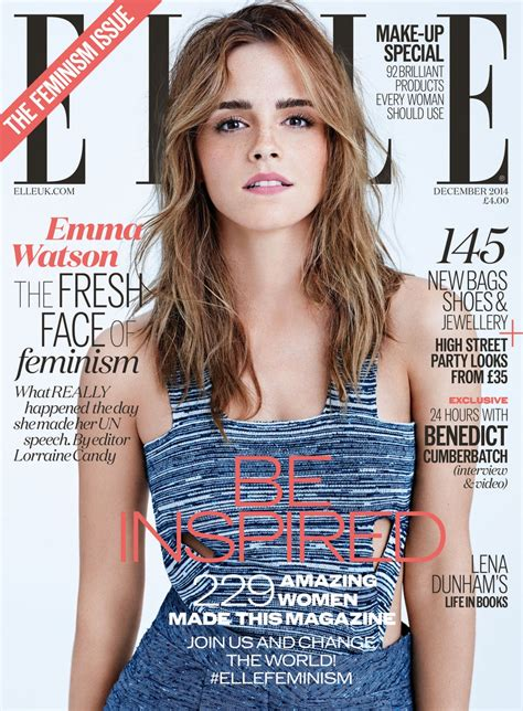 emma watson photoshoot for elle magazine uk december 2014 emma watson in elle magazine uk december 2014 issue