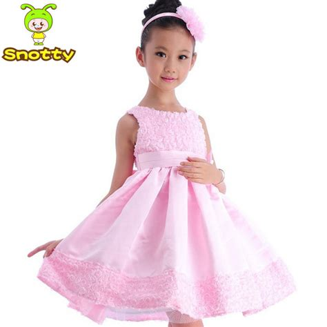 Dress Eight 2 Five pink baby wear dresses one two three four five six