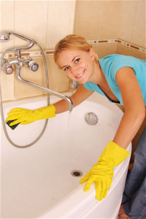 steps in cleaning the bathroom how to prevent soap scum