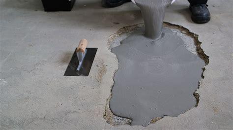 Pvc Boden Loch Reparieren by L 246 Cher Und Unebenheiten In Betonb 246 Den Reparieren