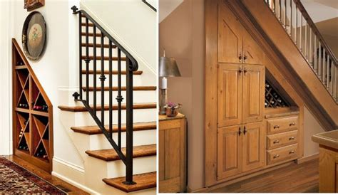 under stairs wine rack 42 under stairs storage ideas for small spaces making your