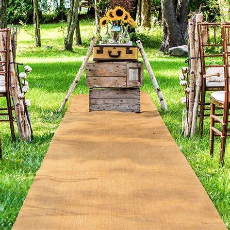 Burlap Wedding Aisle Runner Rustic Weddings ? Candy Cake