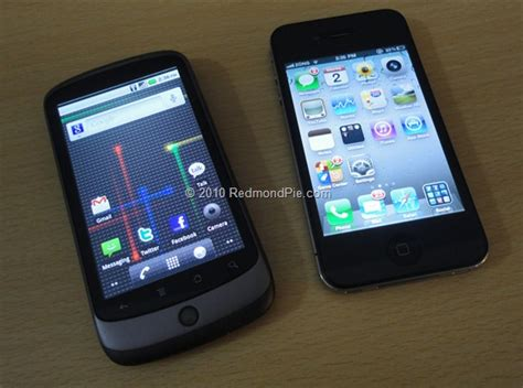 android iphone android on iphone 4 redmond pie