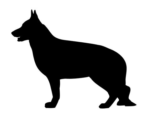 free business cards templates german shepherd silhouette sale german shepherd silhouette vinyl decal for by