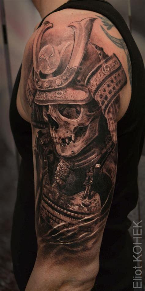 samurai skull tattoo tattoo pinterest