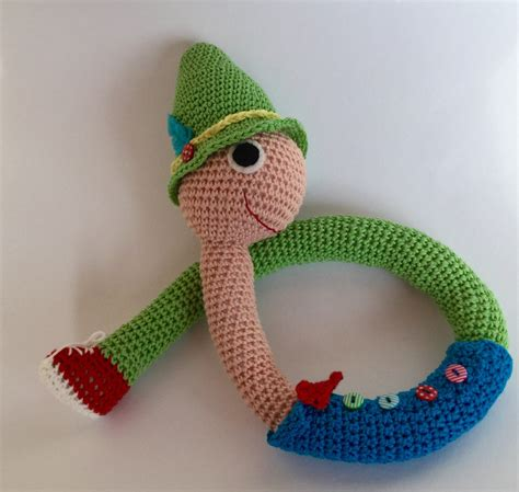 amigurumi worm pattern lowly the worm amigurumi toy crochet lowly the worm