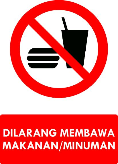 Stiker Sign Dilarang Membawa Hewan Peliharaan kumpulan rambu larangan k3 safety sign ak3u