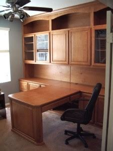 built in home office furniture and desks 15 woodwork