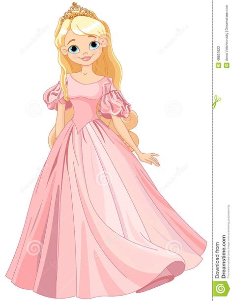Beautiful Princess Stock Vector Image 48921622 Princess Picture