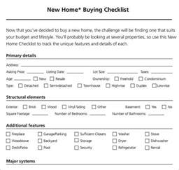 home buyer checklist template sle new apartment checklist 7 documents in pdf word
