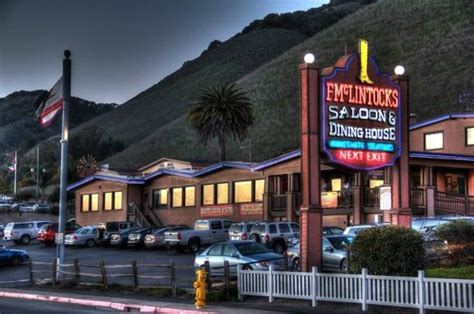 bed and breakfast pismo beach f mclintocks saloon dining pismo beach menu prices