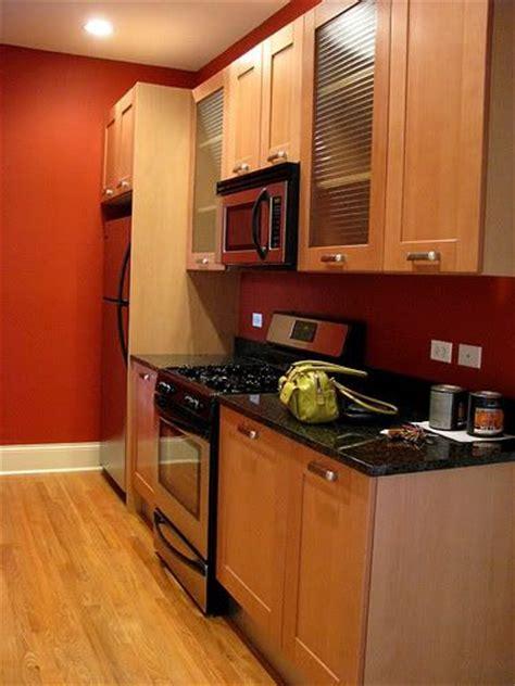 images  kitchen wall color  pinterest oak