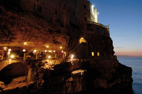 cave resturuant side of a cliff italy savour your meal at the spectacular cave restaurant in