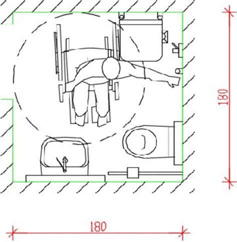 progetto bagno disabili barriere architettoniche progettare un bagno accessibile