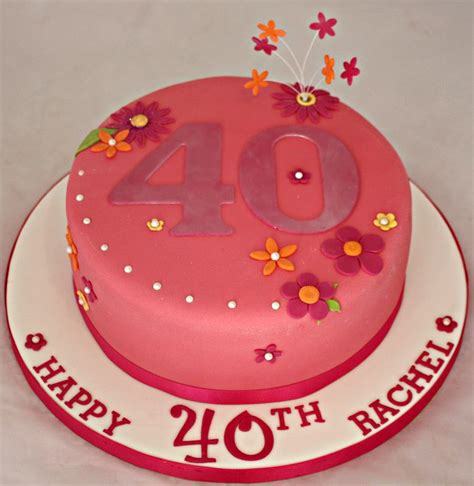 Th Birthday Cake Decorating Ideas by 40th Birthday Cake Decorating Ideas A Birthday Cake