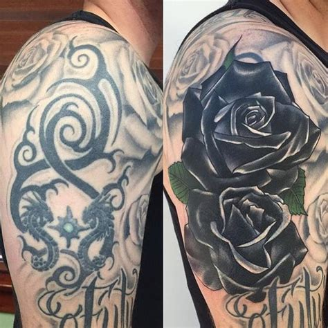 black rose tattoo cover up 38 clever cover up ideas amazing ideas