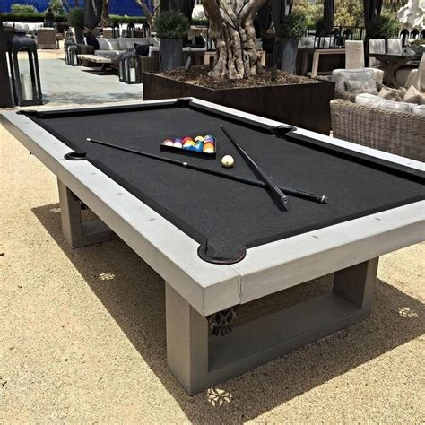 How Cool Is This They Sell Outdoor Pool Tables Out Of