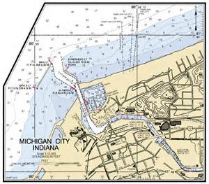 Map Of Indiana And Michigan by