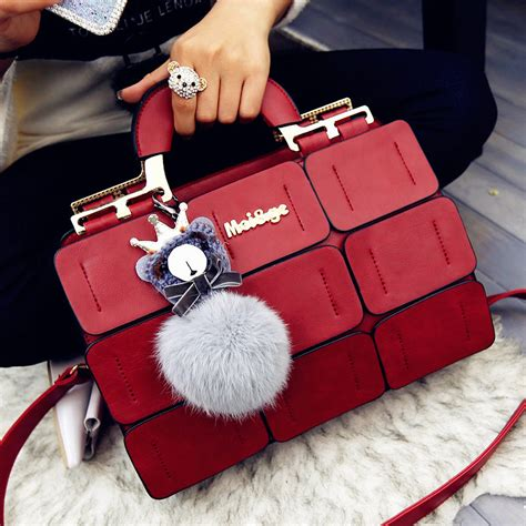 Always In Fashion Luxurious Leather by Fashion Pu Leather Bags Luxury Handbags Bags
