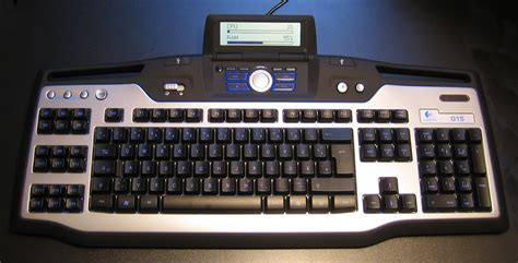 Keyboard Logitech G15 Best Keyboard For Wildstar Has An Logitech G15