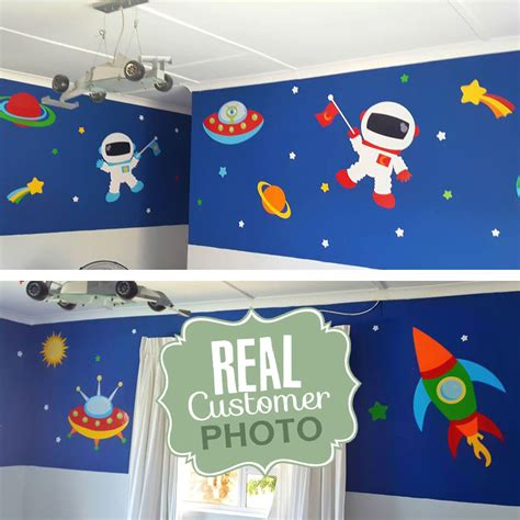 outer space wall stickers outer space vinyl wall sticker stickythings co za