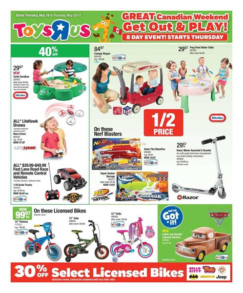 the w h o l e books toys r us canada flyers