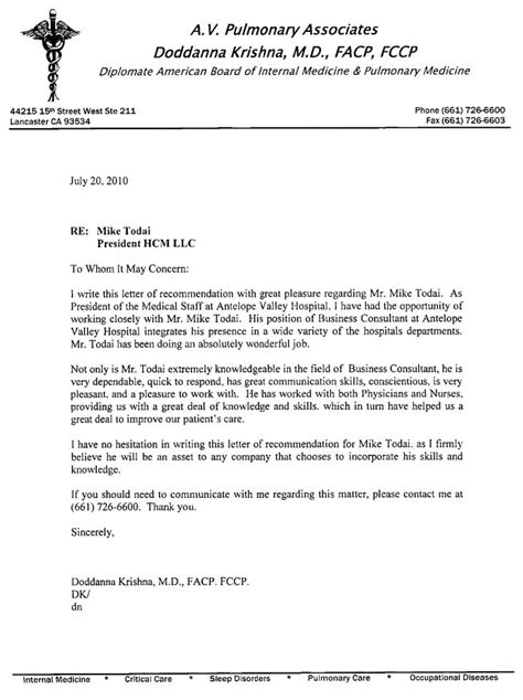 Reference Letter For doc 17002338 nursing letter of recommendation