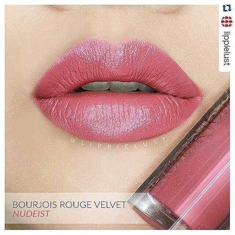 Lipstik Bourjois Edition Velvet repost lippielust with repostapp bourjois
