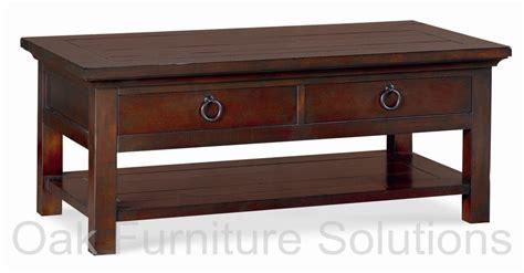 Toledo Dark Coffee Table   Oak Furniture Solutions