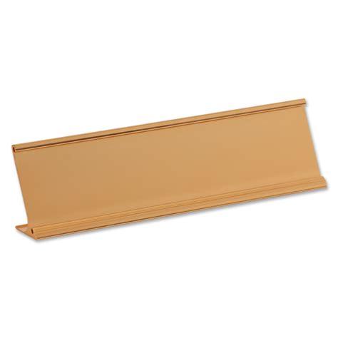 Nameplate Desk by Nameplate Desk Holder Gold 2 In X 8 In Sku Hc